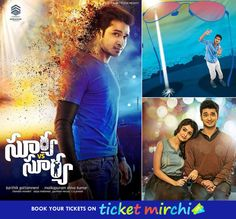 Advance Bookings for SuryaVs Surya is now open on ticketmirchi.com at ‪#‎Guntur‬ ‪#‎Vizianagaram‬!! Get your tickets here ► http://ticketmirchi.com/#/movies or call 7799323264 for bookings.. Director: ‪#‎KarthikGhattamaneni‬ Cast & Crew: #Nikhil, #TridhaChoudhury, #Madhoo, #TanikellaBharani