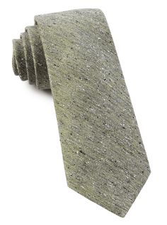 Buff Solid Tie in Moss Green, $19 at www.TheTieBar.com
