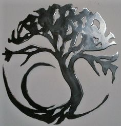 Circle of Life Tree--I like this design for a tattoo