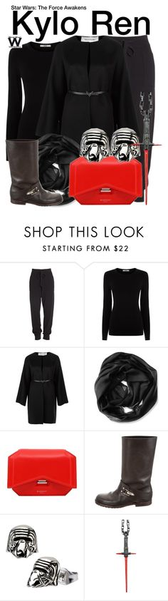 """""""Star Wars - The Force Awakens"""" by wearwhatyouwatch ❤ liked on Polyvore featuring Donna Karan, Oasis, Valentino, Calvin Klein, Givenchy, See by Chloé, Han Cholo, wearwhatyouwatch, film and starwars"""