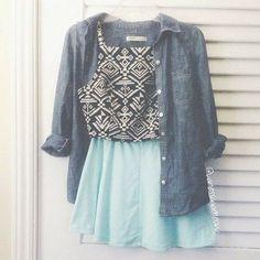 Teenage fashion for summer