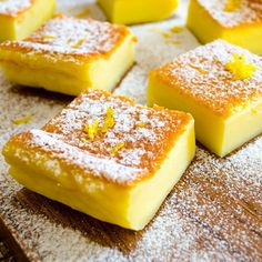 A very light zesty magic custard cake. This could be your ultimate sweet treat to impress your guests.