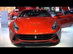 Ferrari Stand at 2012 Paris Motor Show