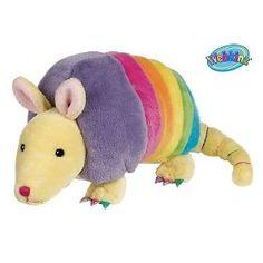 Webkinz Plush Stuffed Animal Rainbow Armadillo