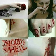Gore Aesthetic, Death Aesthetic, Vampire Pictures, Sad Pictures, I M Not Good, Special Effects Makeup, The Dark World, Maquillage Halloween, Dark Fantasy Art
