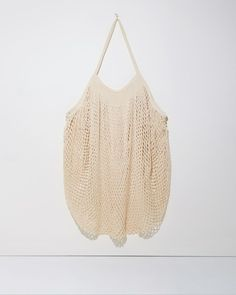 Various Projects Large Net Bag, French-Style Cotton Shopping Bag; eBay for $49
