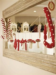 Christmas Garland- This is so different and adorable!!!