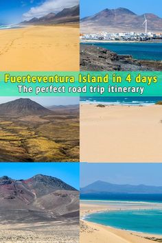 A complete road trip itinerary with all the highlights of Fuerteventura. An interactive map is included with the essentials to see and do in Fuerteventura. Road Trip Europe, Europe Travel Guide, Europe Destinations, Road Trips, Travel Info, Travel Guides, Spain And Portugal, Portugal Travel, Spain Travel