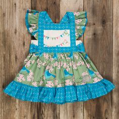 My baby NEEDS this.Bluebirds of Happiness Gracie Top