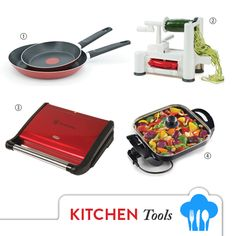 Get Shopping with OUT OF AFRICA: AUGUST Issue OUT NOW!  It takes the right tool to get the job done in the Kitchen! Make sure you have these essential tools to get it done with both speed and finesse. Buy August 2016 OUT OF AFRICA Magazine - OUT NOW!  1. TEFAL 2 PIECE FRYPAN SET $45.99 these stylish frying pans are made from durable aluminium material for optimum heat conductivity. Available in Anthracite Grey and Red Pepper. Available at Dusk Home Kitchn Sync Kitchen Kingdom and Fazak…