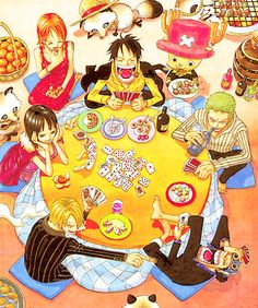 Straw Hat Pirates -one piece