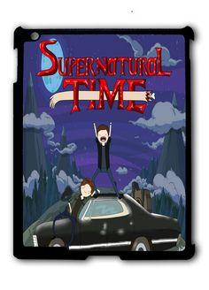Supernatural Time Ipad Case, Available For Ipad 2, Ipad 3, Ipad 4 , Ipad Mini And Ipad Air
