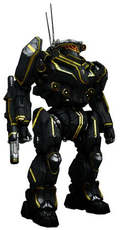Quick (well, it was supposed to be quick) repaint for the Mechwarrior Online's Black Knight.
