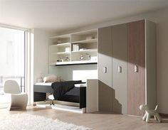 BOONE  Bed FLAT OFFICE BURO  Kleur: zwart, wit, Bed en bureau in een,ruimtebesparenden bedden, wentelbed,  opklapbed,kledingkast, Dealer:theo bot slaapkamers, zwaag, hoorn.