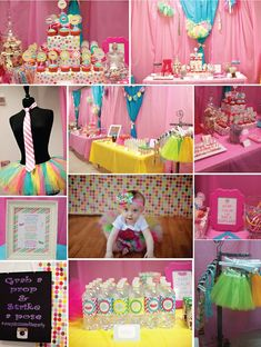 Tutus and Ties Birthday Party