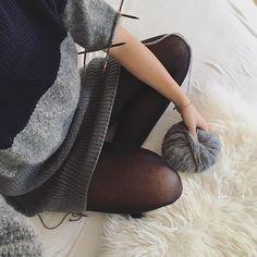 Strickanleitung zum Longpulli ist endlich online! Für einen kuscheligen Winter! #winterfashion #fashionadict #stricken #strickanleitung #anleitung