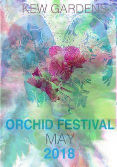 Kew Gardens, Orchids, Graphics, Movie Posters, Movies, Art, Craft Art, Graphic Design, Films