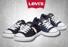Τα πιο cool βήματα με γυναικεία αθλητικά παπούτσια slip on της Levis Μόνο με 29,00€ Levis, Converse, Sneakers, Shoes, Fashion, Tennis, Moda, Slippers, Zapatos