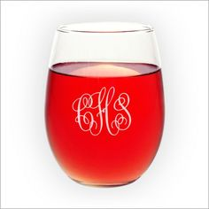 Stemless Wine Glasse