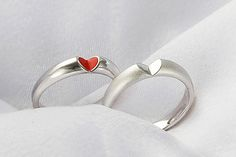 »GIVE U MY HEART #Rings« #ring #wedding #jewelry