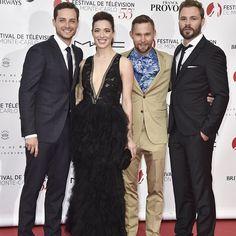 Jesse, Marina, Brian & Patrick at the Monte Carlo TV Festival