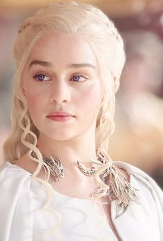 ((FC::Emilia Clarke)) Good Morning. I am the white queens's daughter and my name…