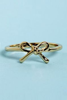 #Lulus                    #ring                     #Oughta #Gold #Ring       You Oughta Bow Gold Bow Ring                                                  http://www.seapai.com/product.aspx?PID=1815224