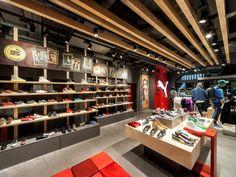 Retail Design   Footware   PUMA Amsterdam by PUMA & Plajer + Franz Studio