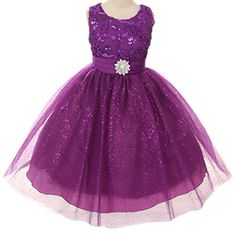 Floral Embroidered Sparkly Sequin Flower Girl Dress Pageant Bridesmaid Wedding Purple 2-14 B Corner http://www.amazon.com/dp/B00OI98696/ref=cm_sw_r_pi_dp_p4oJub1J029MH