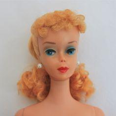 Model 850 -  l960 Blonde Ponytail Barbie