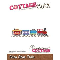 Cottage Cutz - Die - Choo Choo Train