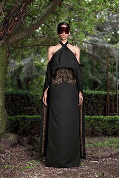 Givenchy Fall 2012 Couture Fashion Show - Grace Mahary (WM)