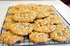 This recipe is for the old Quaker Oats Scotchies that have been around for years. I changed up the method a little. If you like butterscot. Recipe For Oatmeal Scotchies, Oatmeal Butterscotch Cookies, Oatmeal Cookies, Apple Pie Recipes, Cookie Recipes, White Chocolate Chips, Unsweetened Cocoa, Salted Butter, Quick Easy Meals