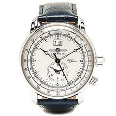 Amazon.co.jp: (ツェッペリン) Zeppelin 時計 メンズ 76401-NV 7640-1-NV SPECIALEDITION100YEARS 100周年記念 限定モデル 腕時計 ネイビー[並行輸入品]: 腕時計通販