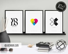 Color Heart, Do It Yourself Furniture, Nordic Design, Frame It, Minimal Design, Yin Yang, Yolo, Fashion Prints, Typography