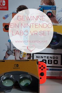 Nintendo Switch Labo VR-Kit + GEWINNSPIEL - Vickyliebtdich The Legend Of Zelda, Breath Of The Wild, Nintendo Switch, Kit, Exotic Fish, Colorful Artwork, Games, Legend Of Zelda