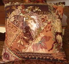 Examples Of Crazy Quilts | Quilting Styles – Embroidery, Crazy Quilting, Sashiko / Quilting ...