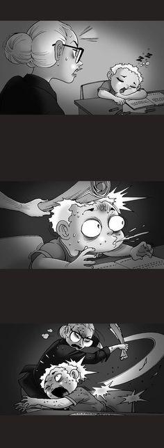 Silent Horror :: Evil Teacher   Tapas - image 2