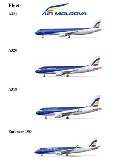Air Moldova fleet