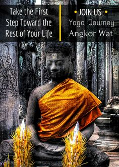 What's stopping you from taking the next step toward the rest of your life? Join us for the best yoga in Angkor Wat