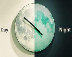 Moonlight Clock By Kikkerland – $31