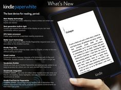 Amazon Accidentally Lists The Next Gen Paperwhite Kindle! - http://www.gearfuse.com/amazon-accidentally-lists-the-next-gen-paperwhite-kindle/