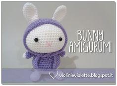 crochet tutorial for amigurumi bunny ♥