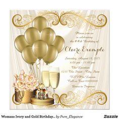 PERSONALISED BIRTHDAY INVITATIONS 40TH 50TH 60TH PCH 5