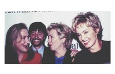 Meryl Streep, Hillary Clinton and Jessica Lange