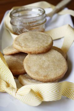 2 cups flour 2/3 cup sugar 1 teaspoon kosher salt 3/4 cup cold, unsalted butter, cut into chunks 3 Tablespoons honey, plus more for brushing