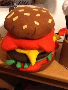 Boîte hamburger by Kas Mazette Http://www.KasMazette.com et @KasMazette sur facebook
