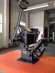 A. Hogenforst, Leipzig, Stabil EH - 8x6 inch table top platen (bogtrykkeren) Tags: table top letterpress press hogenforst