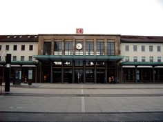 I made my way to this train station every day.  Kaiserslautern, Germany