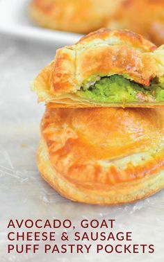 These Avocado, Goat Cheese, and Sausage Puff Pastry Pockets might be bite-sized, but they're bursting with flavor. Justine, of Cooking and Beer, uses Pepperidge Farm® Puff Pastry Sheets to create a savory appetizer recipe that deserves a place on your Thanksgiving table. Click here to learn more.